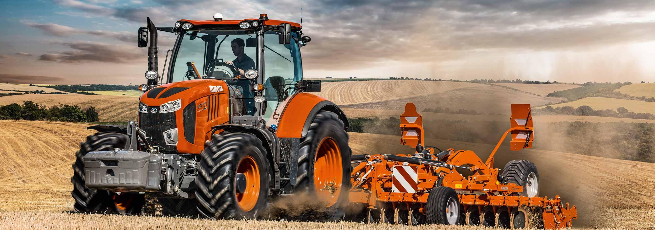 Kubota Traktoren Anbaugeräte